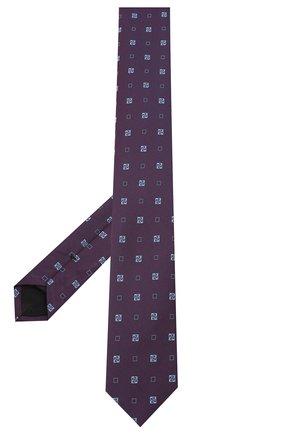 Мужской галстук BOSS фиолетового цвета, арт. 50434855 | Фото 2