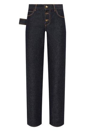 Женские джинсы BOTTEGA VENETA синего цвета, арт. 618452/VF400 | Фото 1