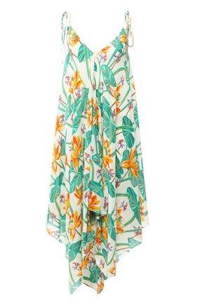Женское шелковое платье loewe x paula's ibiza LOEWE разноцветного цвета, арт. S616335X40 | Фото 1