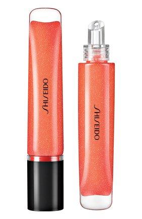 Женские ультрасияющий блеск для губ shimmer gel, 06 daidai orange SHISEIDO бесцветного цвета, арт. 16408SH | Фото 1