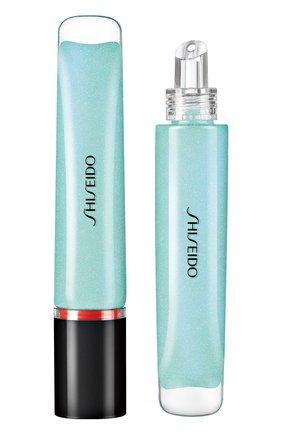 Женские ультрасияющий блеск для губ shimmer gel, 10 hakka mint SHISEIDO бесцветного цвета, арт. 16412SH | Фото 1