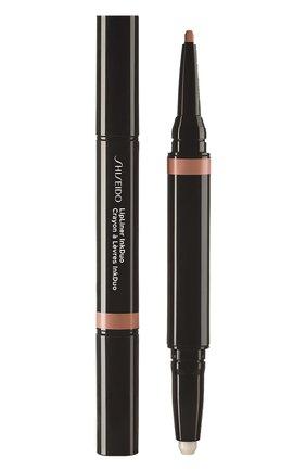 Женский дуэт для губ lipliner ink: праймер + карандаш, 02 beige SHISEIDO бесцветного цвета, арт. 16416SH | Фото 1