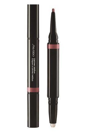 Женский дуэт для губ lipliner ink: праймер + карандаш, 03 mauve SHISEIDO бесцветного цвета, арт. 16417SH | Фото 1