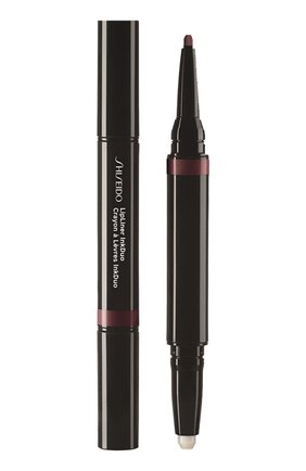 Женский дуэт для губ lipliner ink: праймер + карандаш, 11 plum SHISEIDO бесцветного цвета, арт. 16425SH | Фото 1