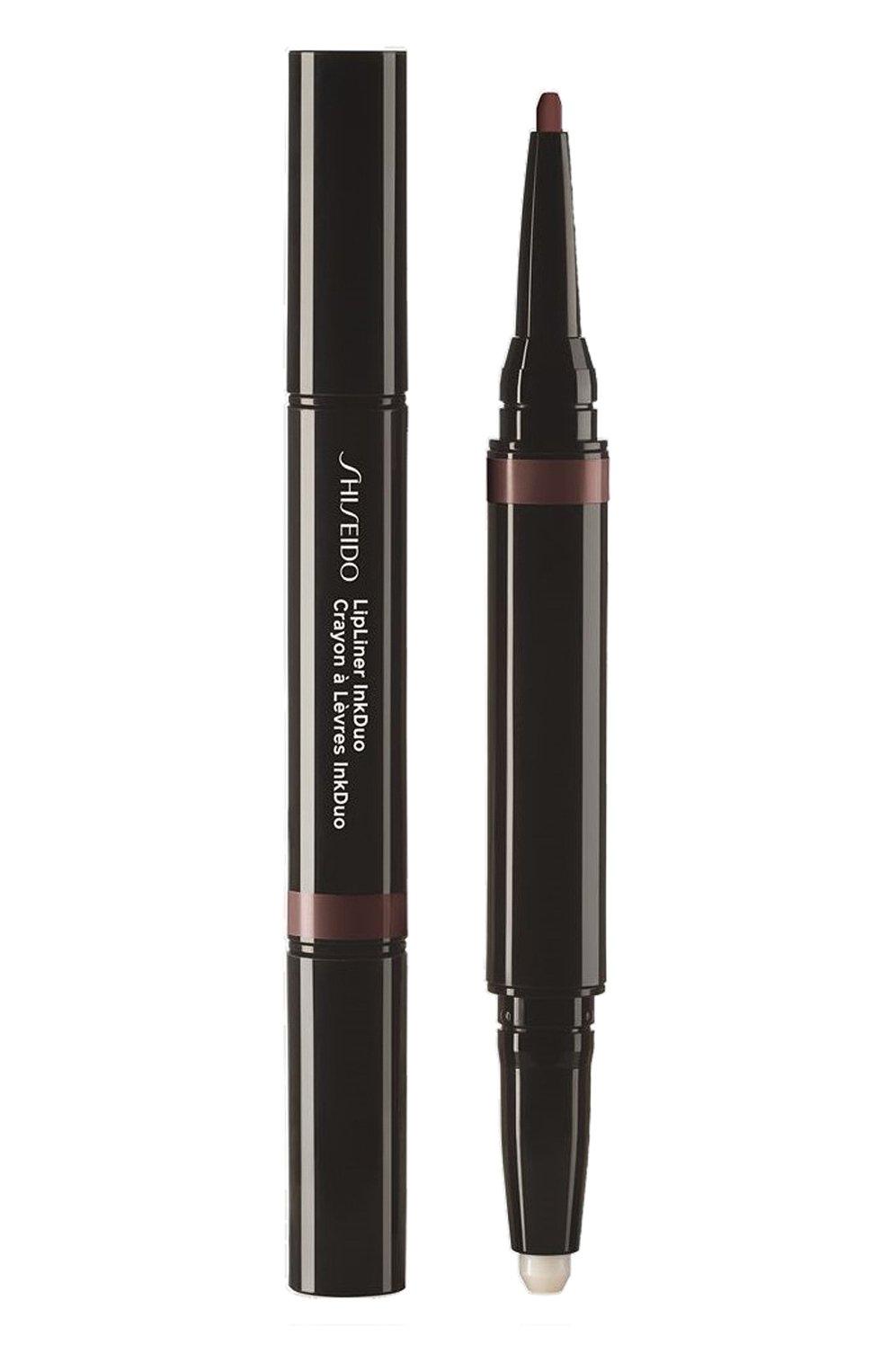 Дуэт для губ lipliner ink: праймер + карандаш, 12 espresso SHISEIDO бесцветного цвета, арт. 16426SH | Фото 1