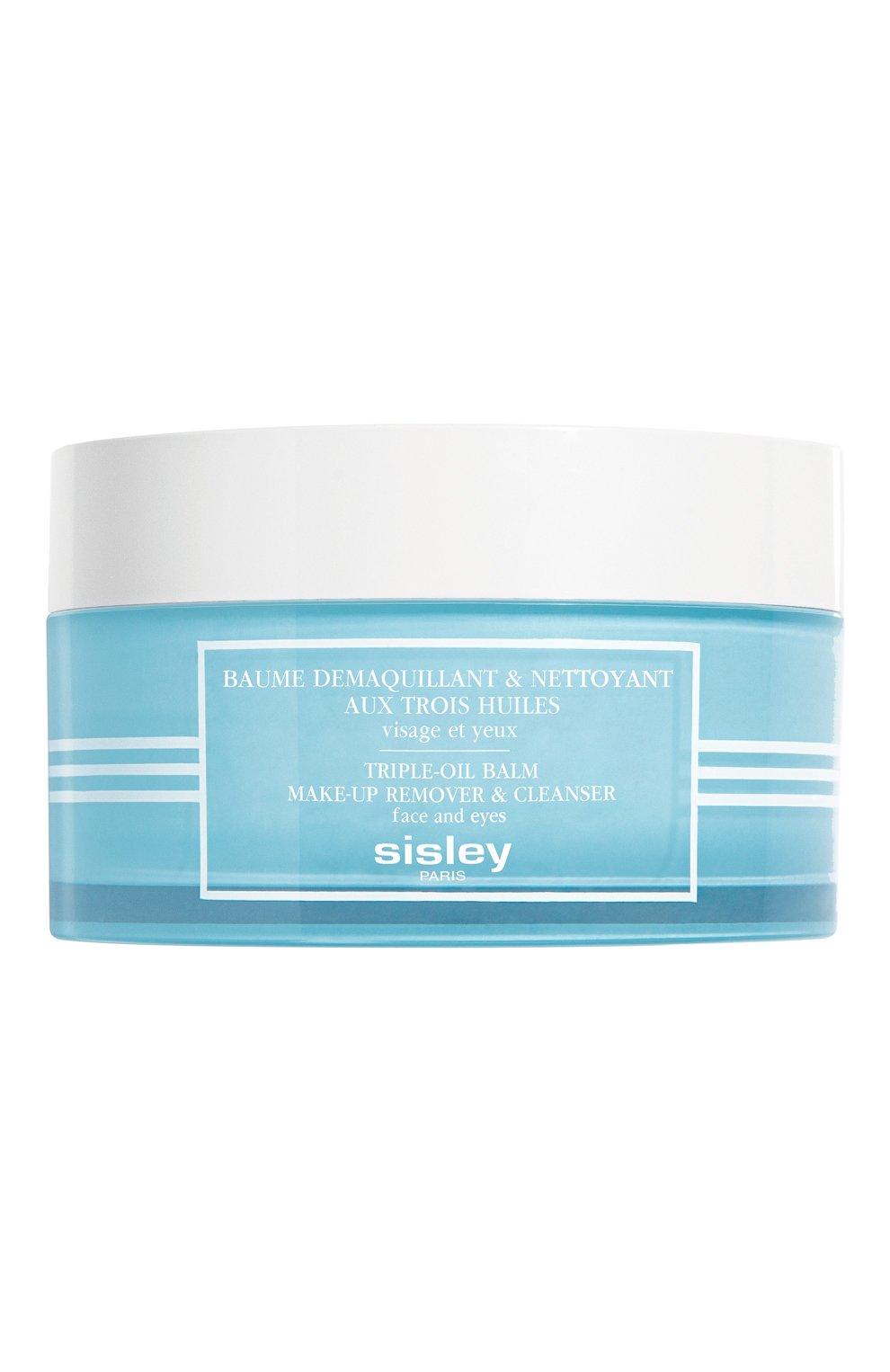 Бальзам для снятия макияжа и очищения кожи с тремя растительными маслами SISLEY бесцветного цвета, арт. 108310   Фото 1