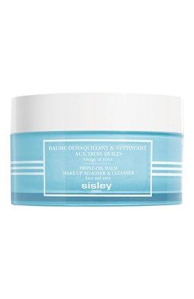 Женского бальзам для снятия макияжа и очищения кожи с тремя растительными маслами SISLEY бесцветного цвета, арт. 108310 | Фото 1