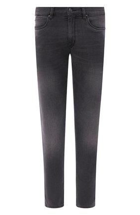 Мужские джинсы HUGO серого цвета, арт. 50430978 | Фото 1
