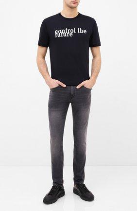 Мужские джинсы HUGO серого цвета, арт. 50430978 | Фото 2