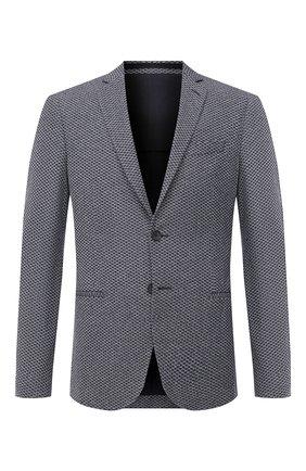 Мужской пиджак BOSS синего цвета, арт. 50432900 | Фото 1
