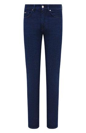 Мужские джинсы BOSS темно-синего цвета, арт. 50432462 | Фото 1