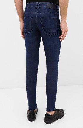 Мужские джинсы BOSS темно-синего цвета, арт. 50432462 | Фото 4