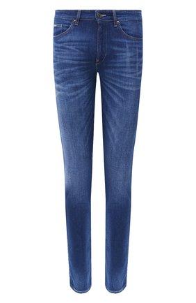 Мужские джинсы BOSS синего цвета, арт. 50432452 | Фото 1