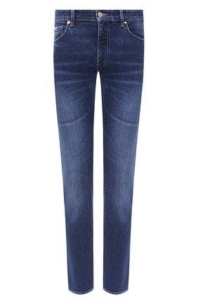 Мужские джинсы BOSS синего цвета, арт. 50432439 | Фото 1