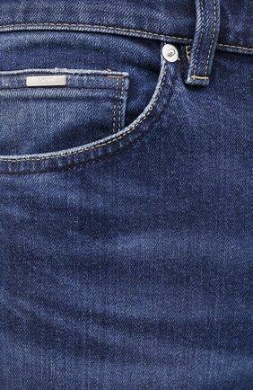 Мужские джинсы BOSS синего цвета, арт. 50432439 | Фото 5