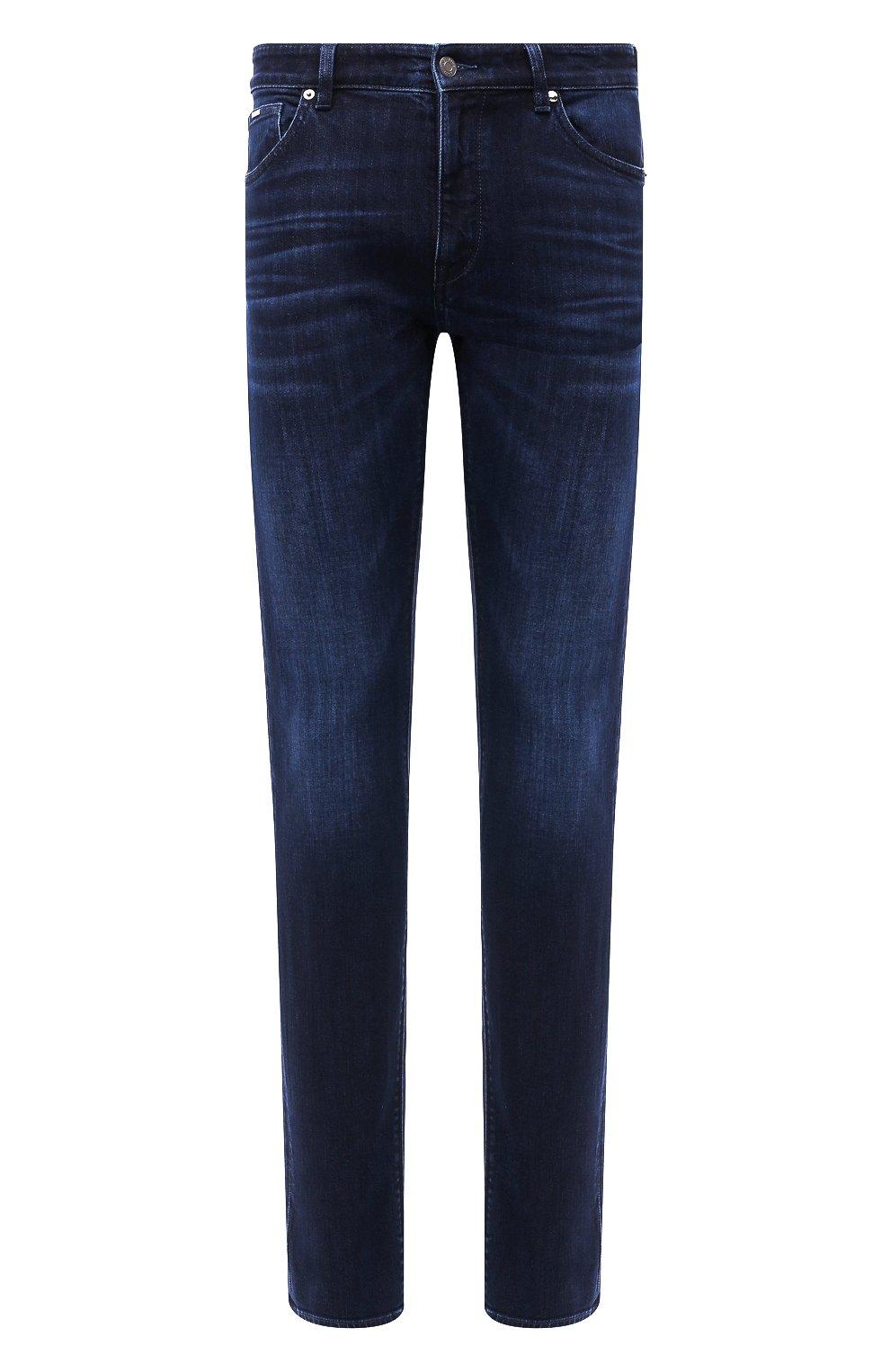 Мужские джинсы BOSS синего цвета, арт. 50432427 | Фото 1
