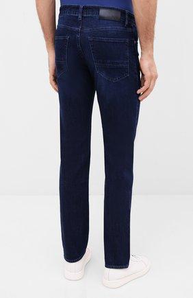 Мужские джинсы BOSS синего цвета, арт. 50432427 | Фото 4