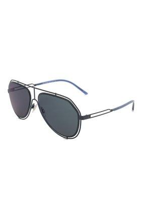 Мужские солнцезащитные очки DOLCE & GABBANA синего цвета, арт. 2176-131096 | Фото 1
