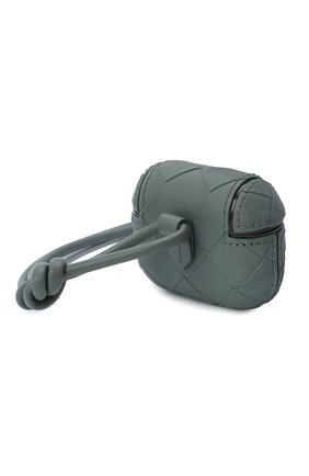 Мужской чехол для airpods pro BOTTEGA VENETA светло-серого цвета, арт. 630338/VCPQ1 | Фото 2
