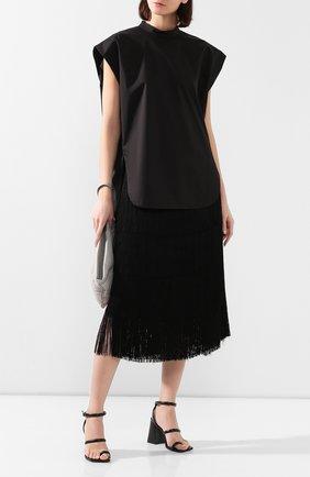Женская рубашка HYKE черного цвета, арт. 15110 | Фото 2