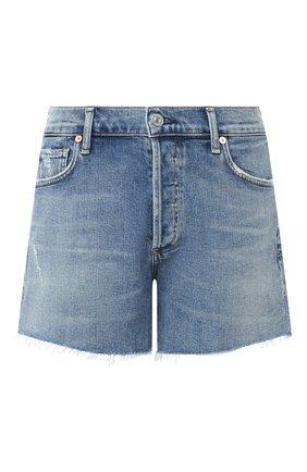 Женские джинсовые шорты CITIZENS OF HUMANITY синего цвета, арт. 996D-990 | Фото 1