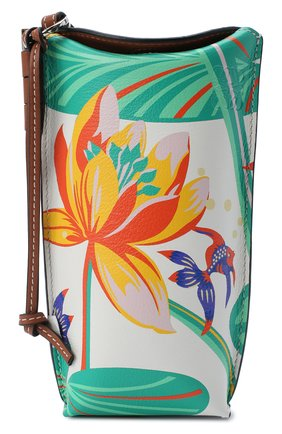 Женская сумка gate pocket loewe x paula's ibiza LOEWE белого цвета, арт. C650Z42X10   Фото 1