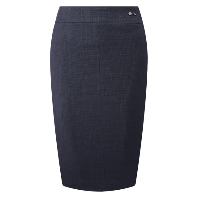 Шерстяная юбка BOSS