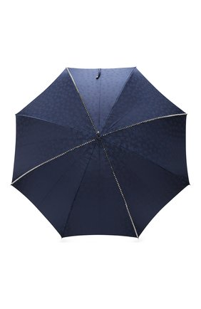 Мужской зонт-трость PASOTTI OMBRELLI темно-синего цвета, арт. 416N/PLAT. BLU+TESCHI/W33 | Фото 1