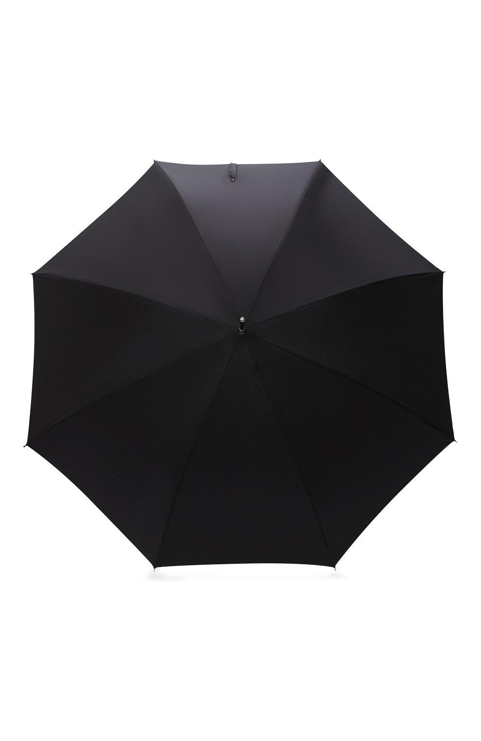 Мужской зонт-трость PASOTTI OMBRELLI черного цвета, арт. 478/RAS0 0XF0RD/18/W09   Фото 1