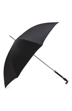 Мужской зонт-трость PASOTTI OMBRELLI черного цвета, арт. 478/RAS0 0XF0RD/18/W09 | Фото 2