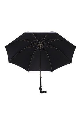 Мужской зонт-трость PASOTTI OMBRELLI черного цвета, арт. 478/RAS0 0XF0RD/18/W09   Фото 3