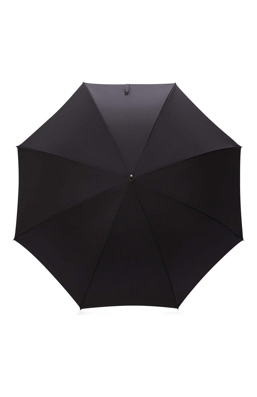 Мужской зонт-трость PASOTTI OMBRELLI черного цвета, арт. 479/RAS0 6768/1/K1   Фото 1