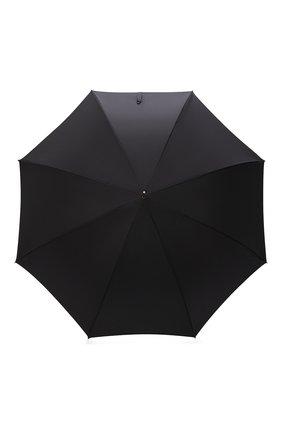 Мужской зонт-трость PASOTTI OMBRELLI черного цвета, арт. 479/RAS0 6768/1/K1 | Фото 1