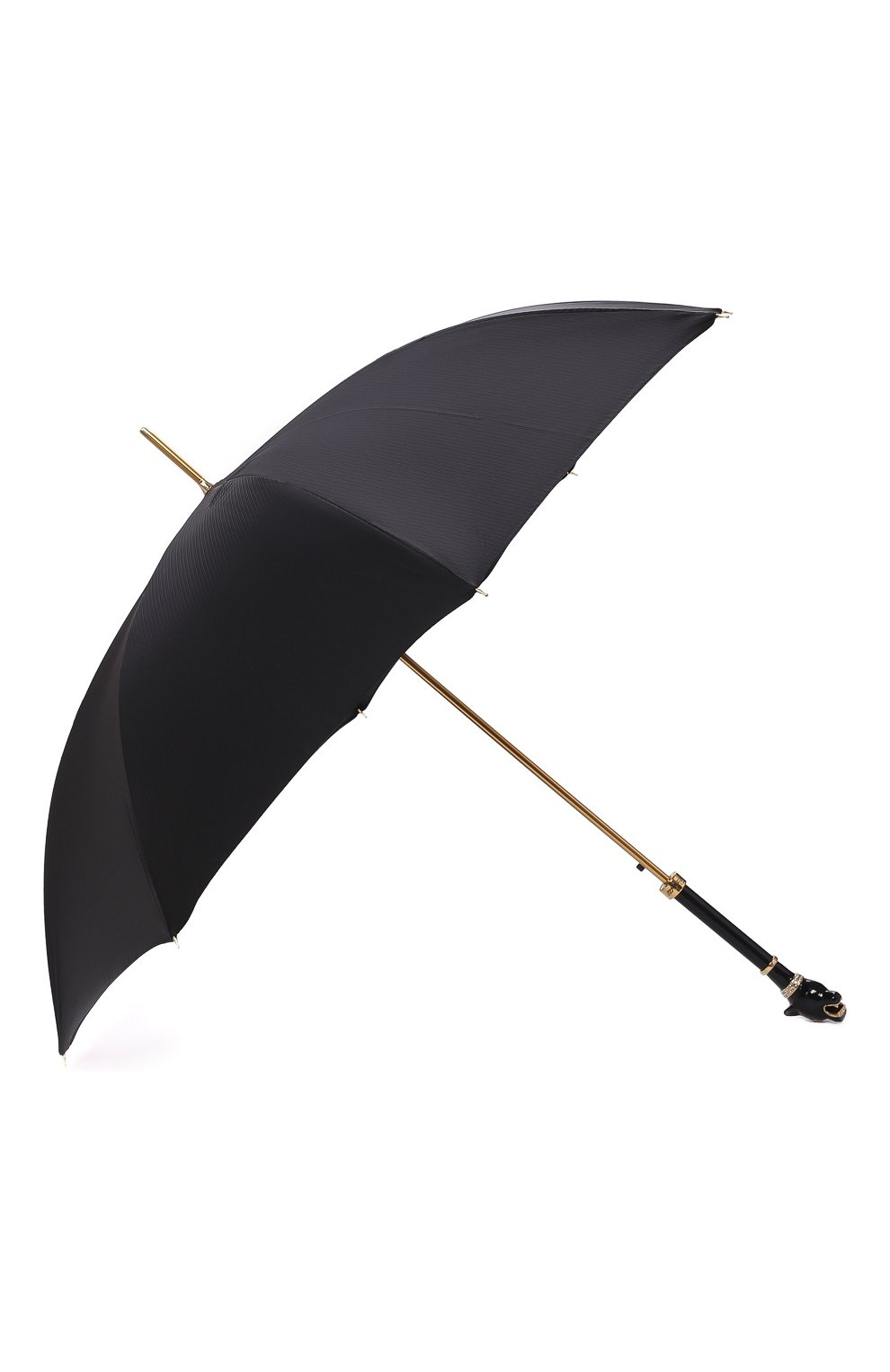 Мужской зонт-трость PASOTTI OMBRELLI черного цвета, арт. 479/RAS0 6768/1/K1   Фото 2