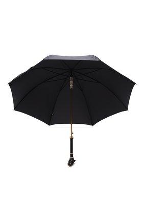 Мужской зонт-трость PASOTTI OMBRELLI черного цвета, арт. 479/RAS0 6768/1/K1   Фото 3