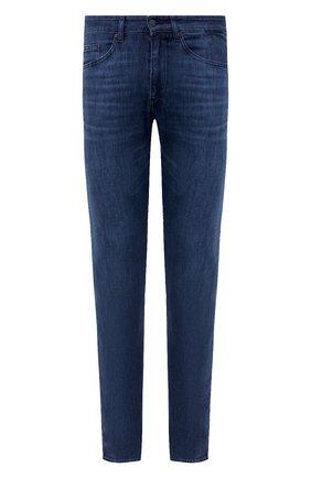 Мужские джинсы BOSS синего цвета, арт. 50432428 | Фото 1