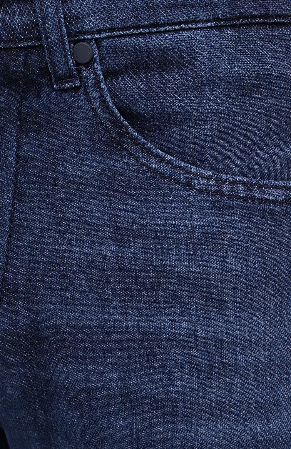 Мужские джинсы BOSS синего цвета, арт. 50432428 | Фото 5
