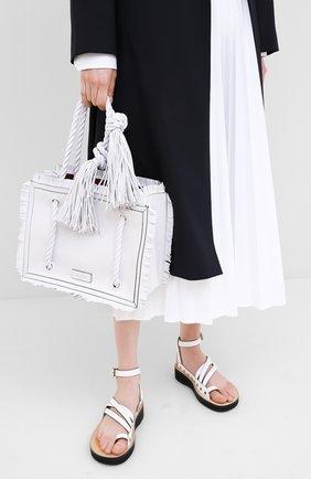 Женская сумка valentino garavani the rope VALENTINO белого цвета, арт. TW0B0G73/JMS | Фото 2