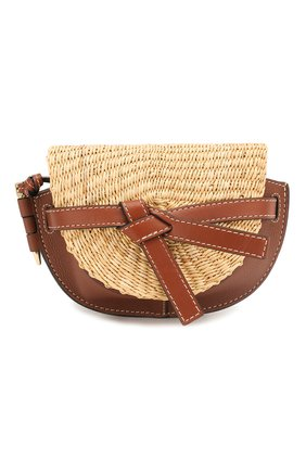 Женская сумка gate loewe x paula's ibiza LOEWE коричневого цвета, арт. A650U62X10   Фото 1
