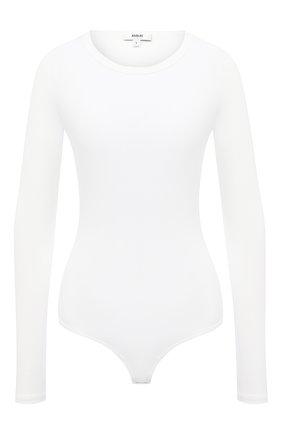 Женское боди AGOLDE белого цвета, арт. A7054B-1095 | Фото 1