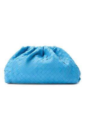 Женский клатч pouch BOTTEGA VENETA синего цвета, арт. 576175/VCPP0 | Фото 1