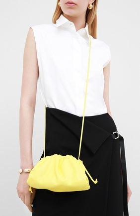 Женский клатч pouch 20 BOTTEGA VENETA желтого цвета, арт. 585852/VCP40 | Фото 2
