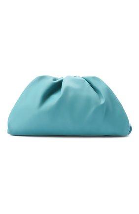 Женский клатч pouch BOTTEGA VENETA голубого цвета, арт. 576227/VCP40 | Фото 1