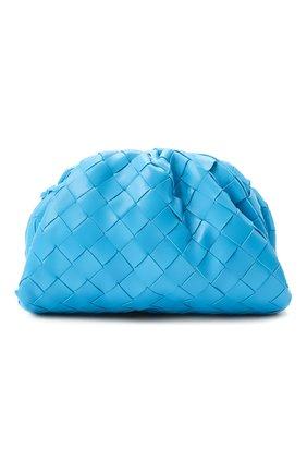 Женский клатч pouch 20 BOTTEGA VENETA синего цвета, арт. 585852/VCPP1 | Фото 1