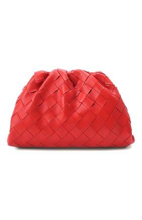 Женский клатч pouch 20 BOTTEGA VENETA красного цвета, арт. 585852/VCPP1 | Фото 1
