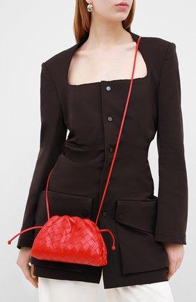 Женский клатч pouch 20 BOTTEGA VENETA красного цвета, арт. 585852/VCPP1 | Фото 2