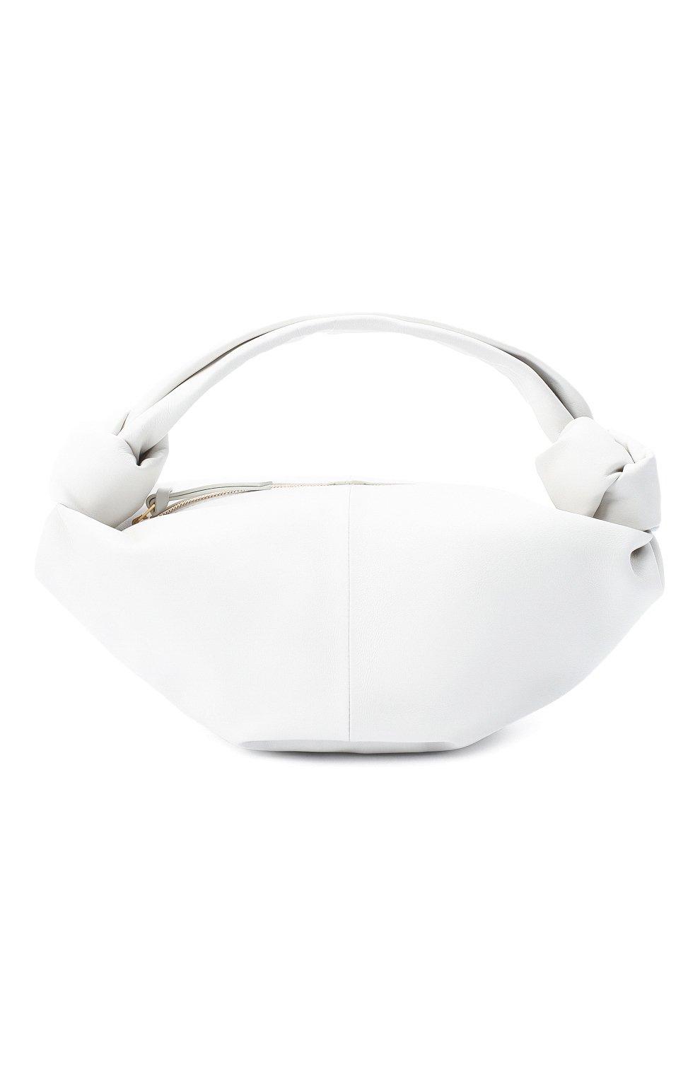 Женская сумка BOTTEGA VENETA белого цвета, арт. 629635/VCP41 | Фото 1