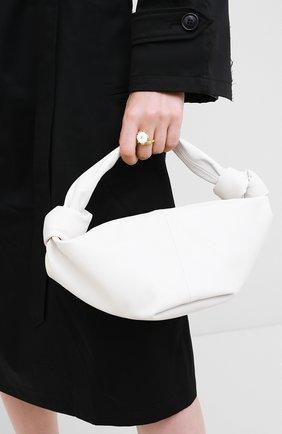 Женская сумка BOTTEGA VENETA белого цвета, арт. 629635/VCP41 | Фото 2