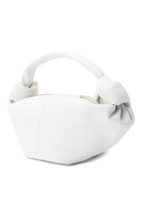 Женская сумка BOTTEGA VENETA белого цвета, арт. 629635/VCP41 | Фото 3