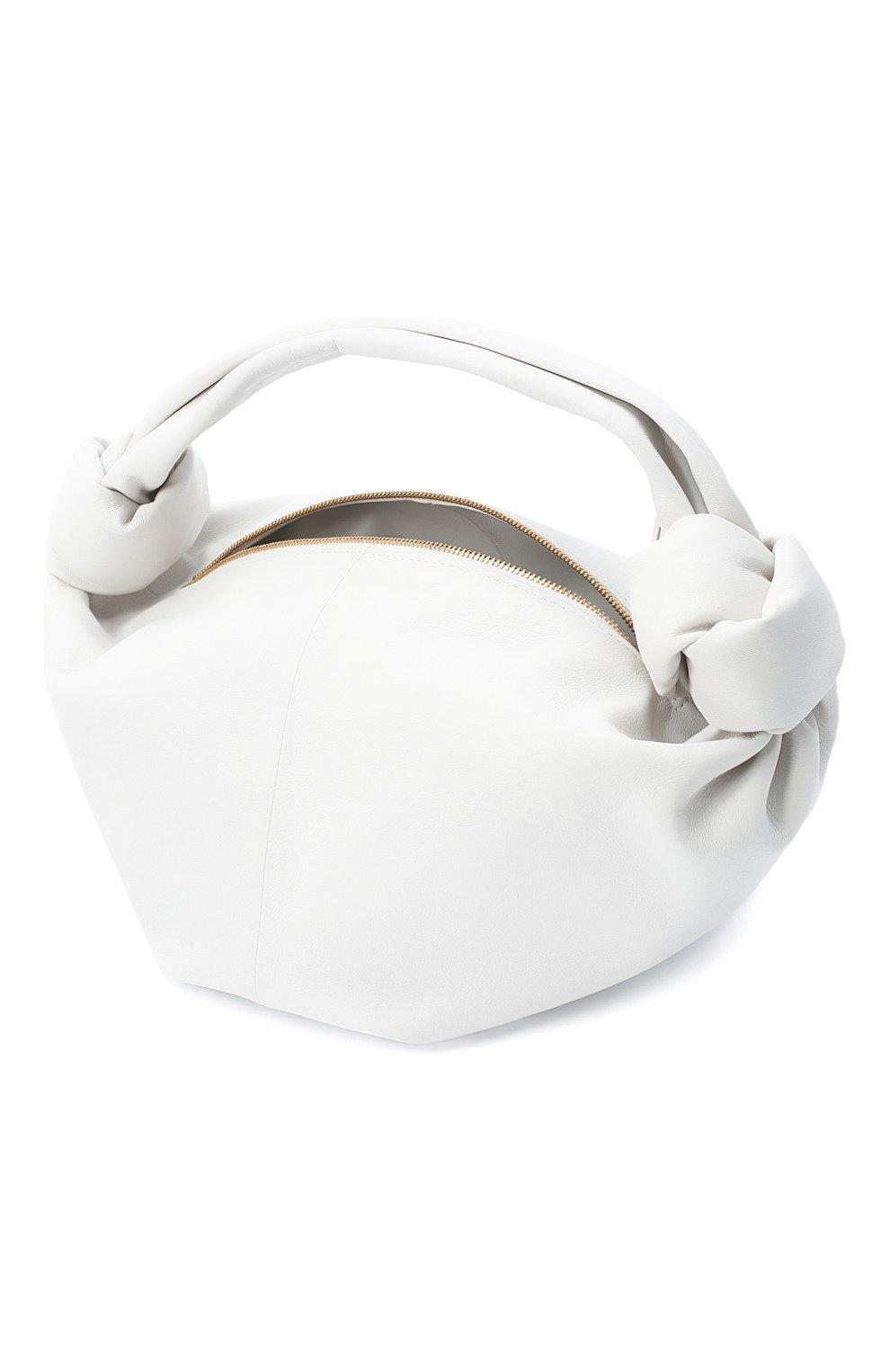 Женская сумка BOTTEGA VENETA белого цвета, арт. 629635/VCP41 | Фото 4